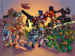 Dibujos Animados de los 80